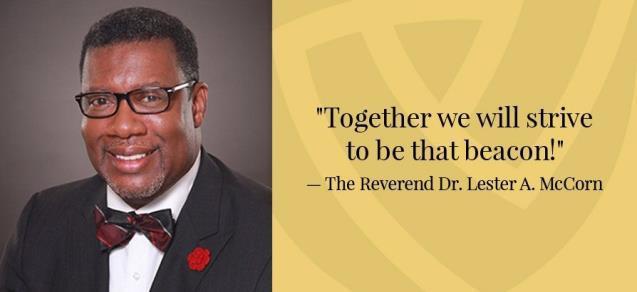 Reverend Dr. Lester A McCorn